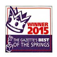 Best of the Springs 2015 Best Attorney Best Lawyer Colorado Springs Andrew Bryant