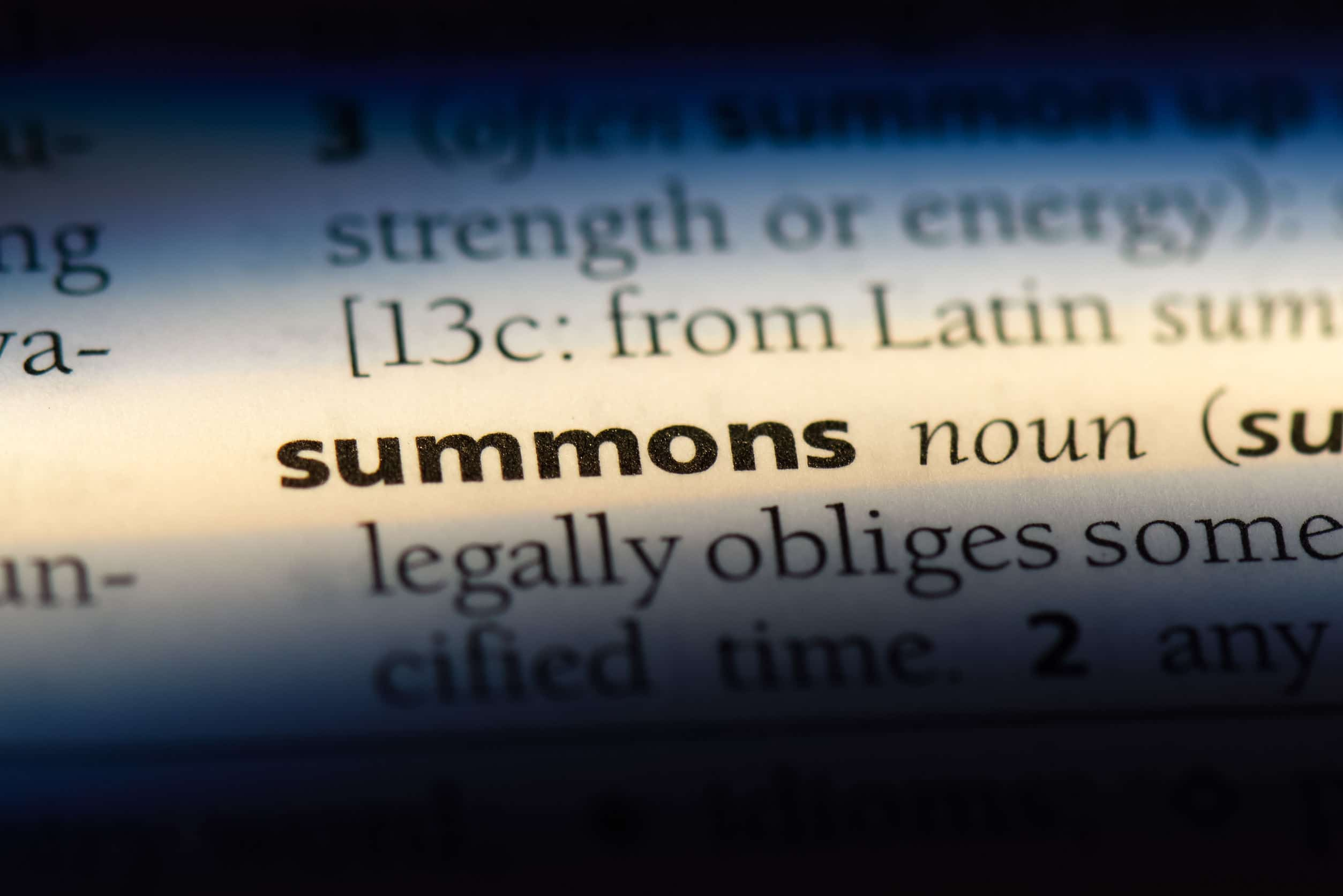 What to Do When You Get a Misdemeanor Summons in Colorado